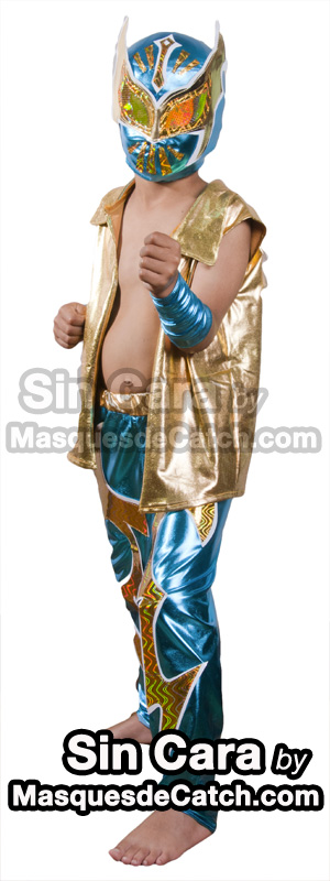 Wwe Sin Cara Costume For Kids